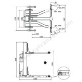 2.5T Fijo Ascensor Mensaje Individual con CE Lf0101