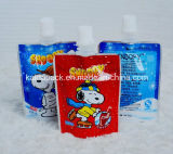 Custom Stand up Gusset Spout Food Pouch para Jelly Juice