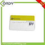 НАПЕЧАТАННАЯ карточка обломока PVC RFID EM4100 125kHz с штемпелевать золота горячий