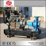 5inch diesel CentrifugaalPomp Met motor met Grote Afvloeiing