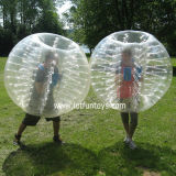 膨脹可能なおもちゃの豊富な球、人体のフットボールのサッカーの泡Giga ZorbのBolaのゲーム