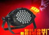 Indicatore luminoso chiaro esterno di PARITÀ 54X3w RGB di PARITÀ 54X3w /IP 65 LED del LED
