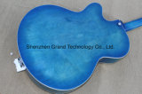 Sea Blue Burst Finish Hollow Body Electric Jazz Guitar (GG-2)