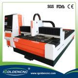 Precio para de acrílico, de madera, metal, acero, metal de la cortadora del laser de hoja