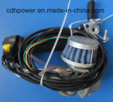 Kit de motor de alta qualidade de 80cc com silenciador de corrida