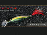Isca dura (Stout Fishing Minnow 80mm Floating)