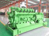 Luogo del generatore dell'alternatore del gas della centrale elettrica del biogas del residuo animale bio-
