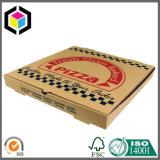 Коробка пиццы различной гофрированной бумага Kraft размера упаковывая