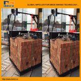 移動式夕食の粘土の煉瓦のための速い包装システム機械は詰まった