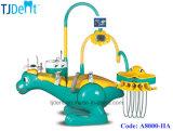 치과 제품 세륨에 의하여 증명되는 안전한과 Qute 아이들 치과 의자 (A8000-II)