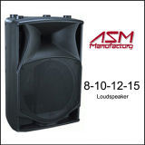 "8 "" /10 "" /12 "" /15 "" di Active bidirezionale Speakers/PA Speaker/Plastic Speaker Box"