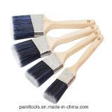 Brosse de châssis angulaire avec poignée en bois B015