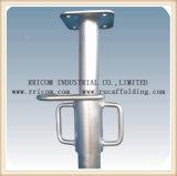 Luz/apoyo de acero ajustable pintado/galvanizado resistente del andamio para el sistema del encofrado