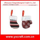 Les décorations en gros de Noël ont tricoté petit s'arrêter de Noël