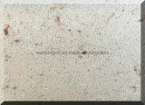 Bancada artificial pré-fabricada da cozinha da pedra de quartzo