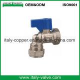 Qualité personnalisée plaquée isolant le robinet à tournant sphérique pour le R-U (AV6001)