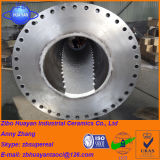 Alto tubo alineado de las baldosas cerámicas del óxido de aluminio de la resistencia de desgaste Al2O3
