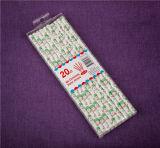 Productos de papel envueltos en papel del partido de las pajas de beber de la paja de beber de Kraft