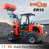 Caricatore compatto approvato della rotella delle attrezzature agricole del CE di Everun 1.0ton
