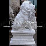 대리석 돌 화강암 동물성 동상 백색 Carrara 사자 Ma 615