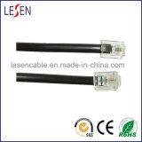 Rj11 Telephone Cable con RoHS Certification