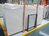 工場供給は最近雪の白い大理石のフロアーリングを設計する