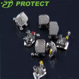 Защитите супер основание металла серии ортодонтическим Sandblasted кронштейном