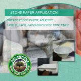 PE & бумага порошка камня синтетическая для применения упаковки супермаркета
