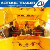 40FT 3 Wellen-Skeleton Chassis-Hilfsprogramm/Ladung-Flachbett/Plattform-Behälter-halb Schlussteil