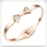 新しいデザイン方法宝石類のステンレス鋼の腕輪(BR344)