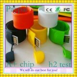 Диск USB браслета свободно образца внезапный (GC-B016)