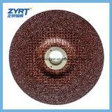 T27 для красного цвета абразивного диска #160 металла с сеткой