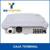 Коробка распределения Splitter Sc/APC Aadaptor PLC коробки 1*12 кабеля сердечников FTTH 12 оптически