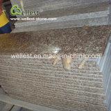 Escalier rouge de granit de pêche bon marché des prix G687 pour d'intérieur