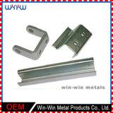 Präzisions Kleine Curved Extrusion Aluminium Stanzen Teile für Maschinen