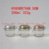 Frasco de vidro do vidro do armazenamento do frasco 200ml do alimento