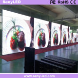 Tela Rental elevada magro interna do diodo emissor de luz do estágio da cor cheia da definição de P2.976mm para o anúncio video