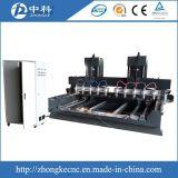 10 маршрутизатор CNC управлением оси головок 4