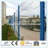高品質のPVCによって塗られる溶接された庭の塀のパネル