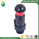 Válvula del desbloquear del aire del agua plástica de la irrigación de la granja pequeña