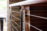 高品質のステンレス鋼のバルコニーケーブルの鉄道システム-ワイヤーロープの柵