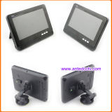 カメラおよび7インチLCDの監視テレビを逆転させる2無線車