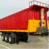 20FT Flatbed Dump Container Tipping Trailer mit Hydraulic Cylinder