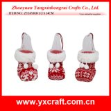 Figurine de Noël de produit de cadeau de Noël de la décoration de Noël (ZY15Y140-1-2)