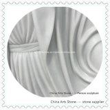 Het zuivere Witte Marmeren Beeldhouwwerk van het Standbeeld Onxy voor Tuin