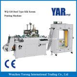 Nagelneuer Typ Silk Bildschirm-Drucken-Maschine der Bandspule-Wq-320 mit Cer
