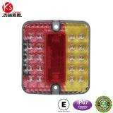 Ks001b IP67 impermeabilizzano gli indicatori luminosi 24V della coda/arresto/parte posteriore/piatto LED per il camion