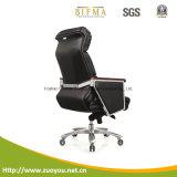 Présidence en cuir de design ergonomique (A655-1)