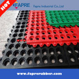 Drainage Rubber Mat/Interlocking Rubber Mat/Acid Resistant Rubber Mat