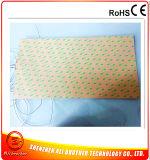 calefator da borracha de silicone da tensão do retângulo 3 de 240V 1000W 300*500*1.5mm